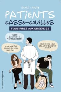 Patients casse-couilles La couverture du livre martien