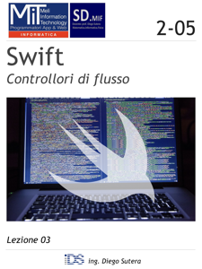 Swift - Controllori di flusso Libro Cover