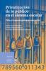 Privatización De Lo Público En El Sistema Escolar