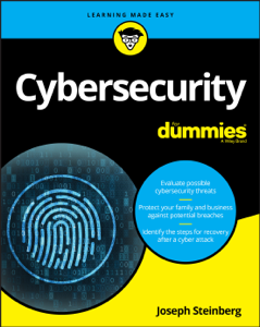 Cybersecurity For Dummies Book Cover