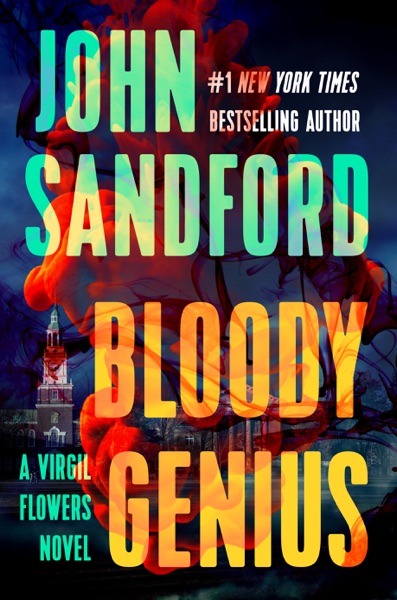 Bloody Genius - John Sandford book cover