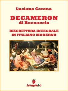 Decameron in italiano moderno Book Cover