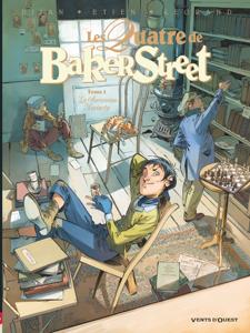 Les Quatre de Baker Street - Tome 05 La couverture du livre martien