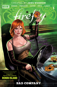 Firefly: Bad Company #1 Libro Cover