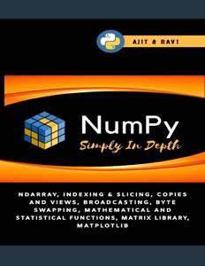 Numpy Simply In Depth Book Cover