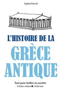L'Histoire de la Grèce antique - Tout pour briller en société La couverture du livre martien