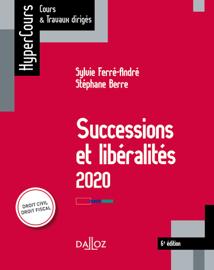 Successions et libéralités 2020 - 6e éd.