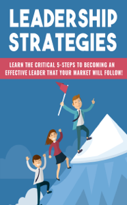 Leadership Strategies Libro Cover