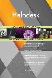 Download Helpdesk A Complete Guide - 2020 Edition