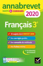 Annales du brevet Annabrevet 2020 Français 3e