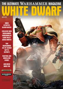 White Dwarf July 2019 Libro Cover