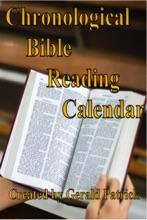 Chronological Bible Reading Calendar