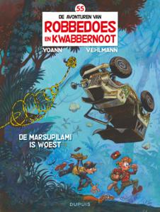 De Marsupilami is woest Boekomslag