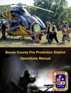 Boone County Fire Protection District Operations Manual