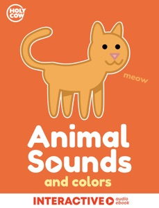 Animal Sounds and Colors Book Cover