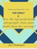 The Great 8 - How The Top Performing Salespeople Close More Deals Than The Average?