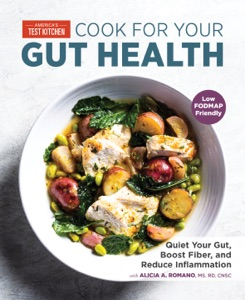 Cook for Your Gut Health by America's Test Kitchen Book Cover