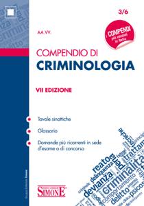 Compendio di Criminologia Copertina del libro