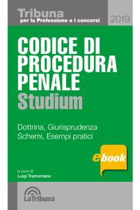 Codice di procedura penale studium Libro Cover