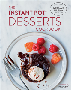 The Instant Pot Desserts Cookbook Book Cover