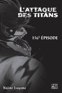 L'Attaque des Titans Chapitre 136 Couverture de livre