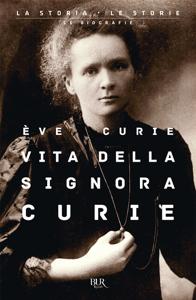 Vita della signora Curie Copertina del libro