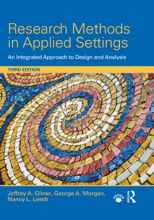 Research Methods In Applied Settings