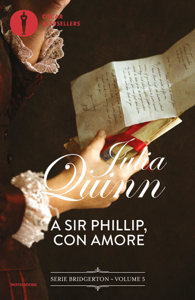 Bridgerton - 5. A Sir Phillip con amore Libro Cover