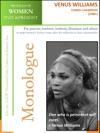 Profiles Of Women Past  Present  Venus Williams Tennis Champion 1980-