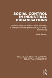 Social Control in Industrial Organisations
