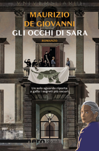 Gli occhi di Sara (Nero Rizzoli) Copertina del libro
