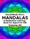 PuzzleBooks Press Mandalas  Volume 4