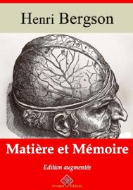 Matière et mémoire – suivi d'annexes