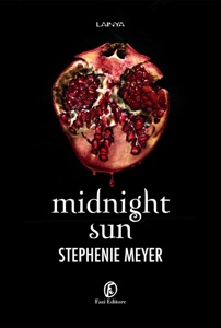 Midnight Sun di Stephenie Meyer Copertina del libro