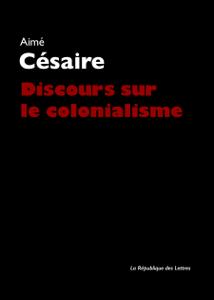 Discours sur le colonialisme La couverture du livre martien