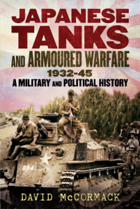 Japanese Tanks and Armoured Warfare 1932-1945 Buch-Cover