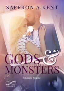 Gods & Monsters da Saffron A. Kent & Camilla Barrichello Copertina del libro