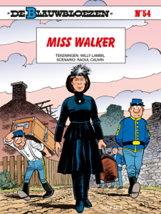 Miss Walker Boekomslag