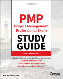 PMP Project Management Professional Exam Study Guide Book Cover