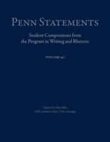 Alex Sibo & Tyler Arsuaga - Penn Statements, Vol. 40 artwork