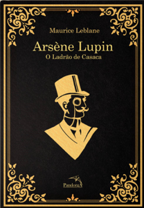 Arsène Lupin Book Cover