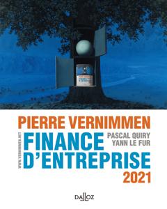 Finance d'entreprise 2021 Couverture de livre