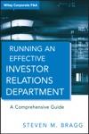 Running An Effective Investor Relations Department