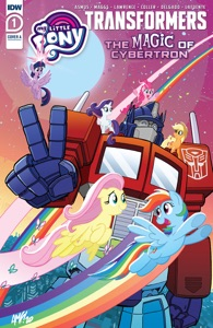 My Little Pony/Transformers II #1 Book Cover