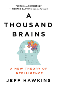 A Thousand Brains Copertina del libro