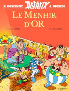 Le Menhir d'Or Couverture de livre