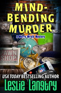 Mind-Bending Murder Book Cover