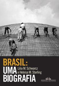 Brasil: uma biografia Capa de livro