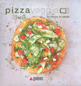 Pizzas Veggie La couverture du livre martien