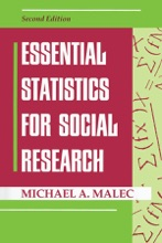 Essential Statistics For Social Research